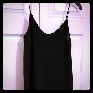 Slinky black Zara blouse